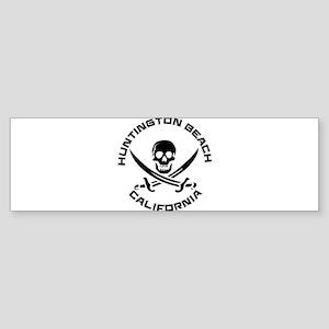 California - Huntington Beach Bumper Sticker