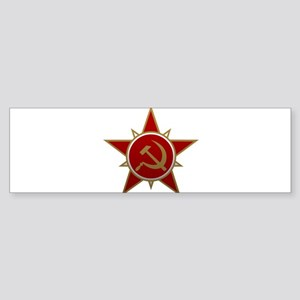 Hammer and Sickle Bumper Sticker