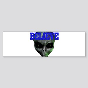 """I Want to Believe"" 2 Bumper Sticker"