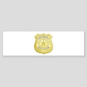 Security Officer Bumper Sticker