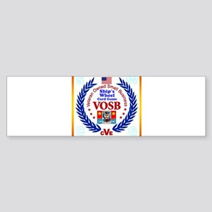 Ships Wheel Card Game Company Bumper Sticker