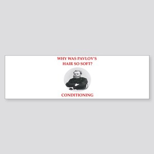 pavlov Bumper Sticker