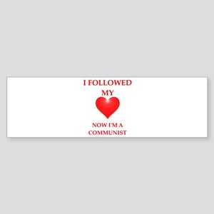 communist Bumper Sticker