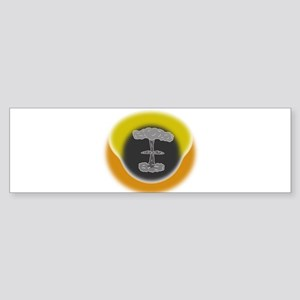 Atomic Explosion Bumper Sticker