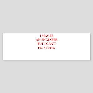 engineer Bumper Sticker