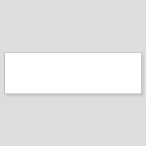 Dakar blue Bumper Sticker