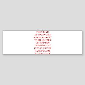 hate Bumper Sticker