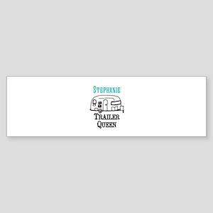 Custom Trailer Queen Bumper Sticker
