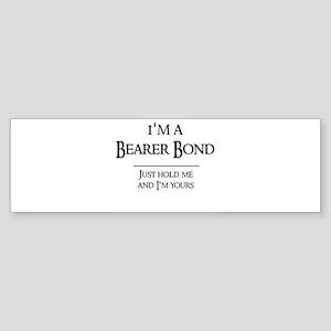 Bearer Bond Bumper Sticker