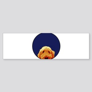 Golden Doodle Bumper Sticker
