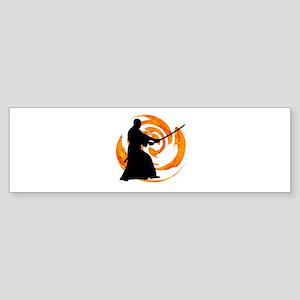 SAMURAI Bumper Sticker