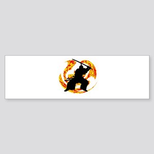 WARRIOR Bumper Sticker