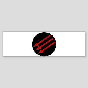 Anti-Fascism Symbol AntiFa Bumper Sticker