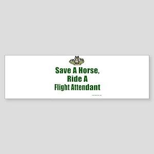 Save a Horse Bumper Sticker