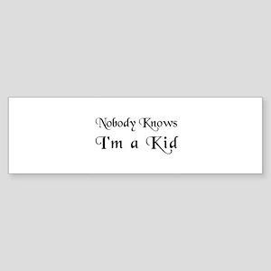 The Childish Bumper Sticker