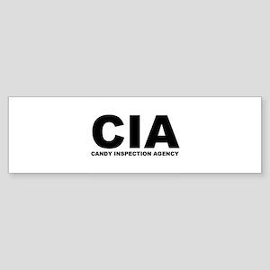 CIA Bumper Sticker