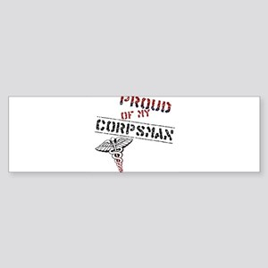 corpsmanpride Sticker (Bumper)