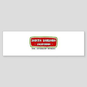 Santa Barbara Bumper Sticker