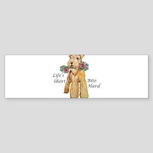 Welsh Terrier Bite! Bumper Sticker