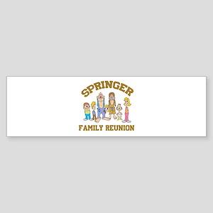 Springer Hillbilly Family Reu Sticker (Bumper)