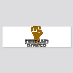 Chicano Power Fist Bumper Sticker
