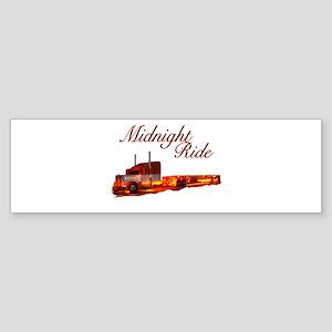 Midnight Ride Bumper Sticker