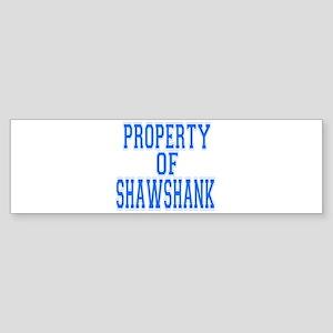 Property of Shawshank Bumper Sticker
