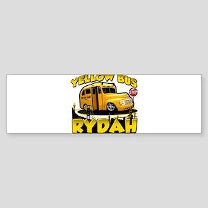 Yellow Bus Rydah Bumper Sticker