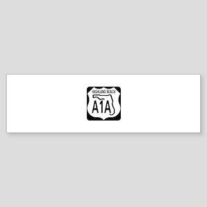 A1A Highland Beach Bumper Sticker