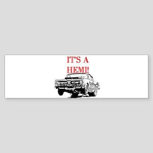 AFTMItsAHemi! Sticker (Bumper)
