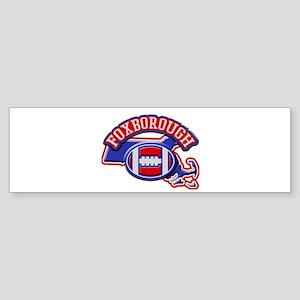 Foxborough Football Bumper Sticker