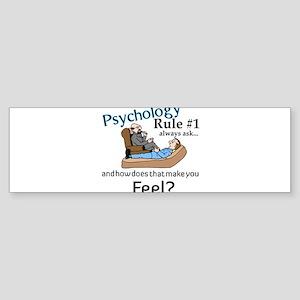 Therapy Bumper Sticker