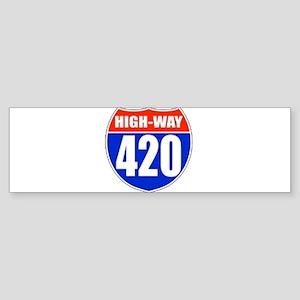 highway Bumper Sticker