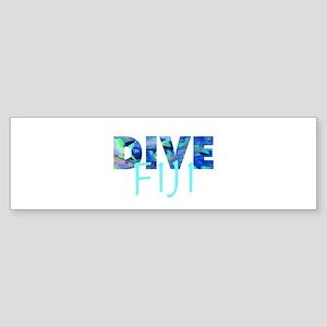 Dive Fiji Bumper Sticker