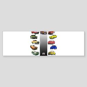 Mustang Gifts Sticker (Bumper)