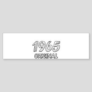 Mustang 1965 Sticker (Bumper)