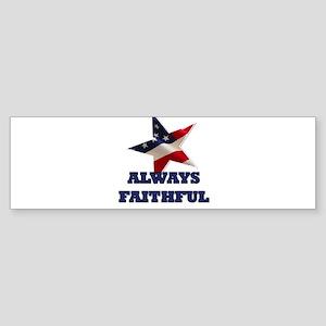Always Faithful Sticker (Bumper)