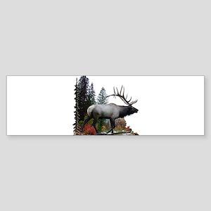 Elkaholic Sticker (Bumper)