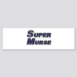 Super Murse Bumper Sticker