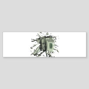 100 Dollar Blot Sticker (Bumper)