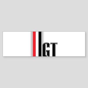 GTBLACK Sticker (Bumper)