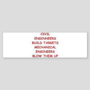 CIVIL Sticker (Bumper)