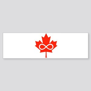 Canadian Metis Flag Sticker (Bumper)