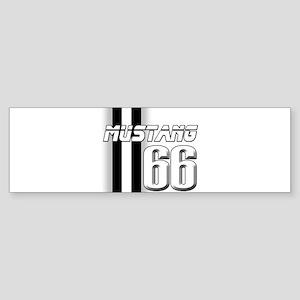 Mustang 66 Sticker (Bumper)