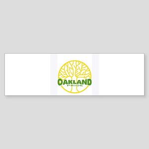 Oakland Pride Tree Light (www Sticker (Bumper)