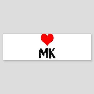 Love MK Sticker (Bumper)
