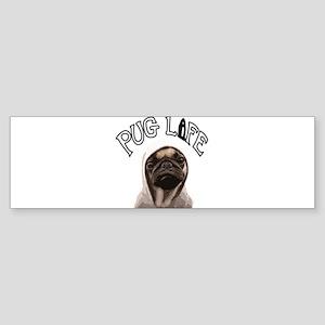 Pug Life Sticker (Bumper)