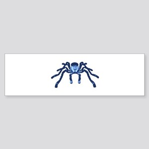 Cobalt Blue Taranchula Sticker (Bumper)