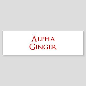 Alpha Ginger Sticker (Bumper)