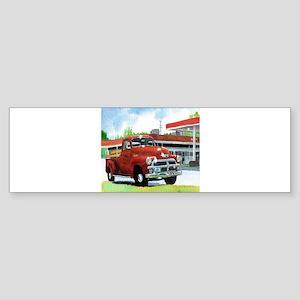 1954 Chevrolet Truck Sticker (Bumper)